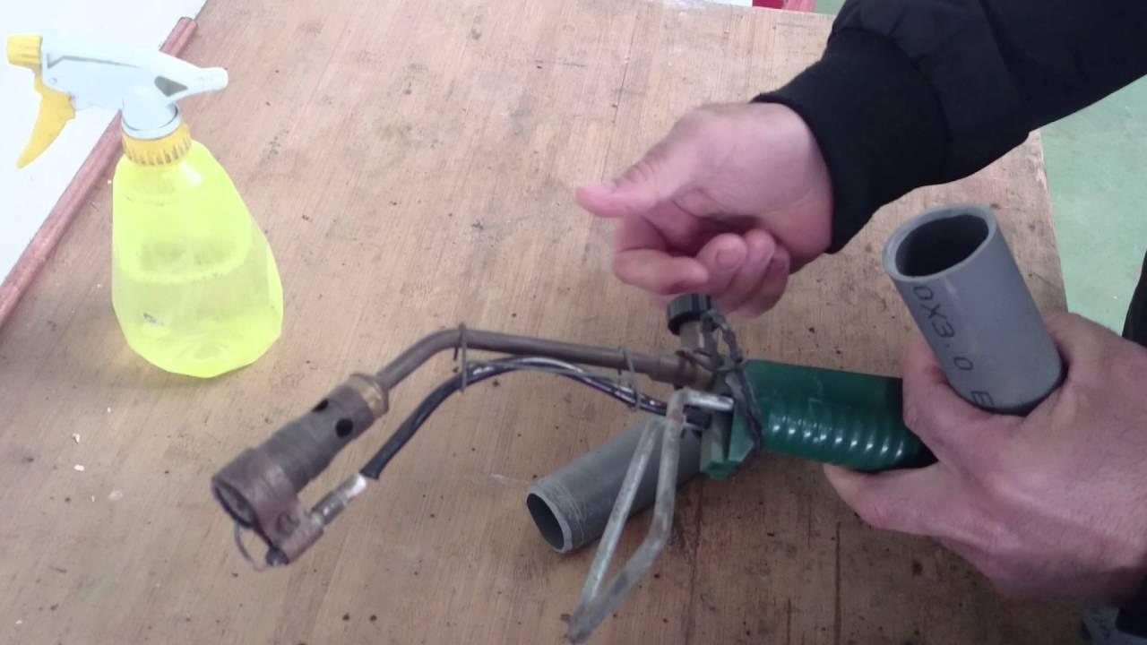 Comment décoller des tuyaux en PVC ?