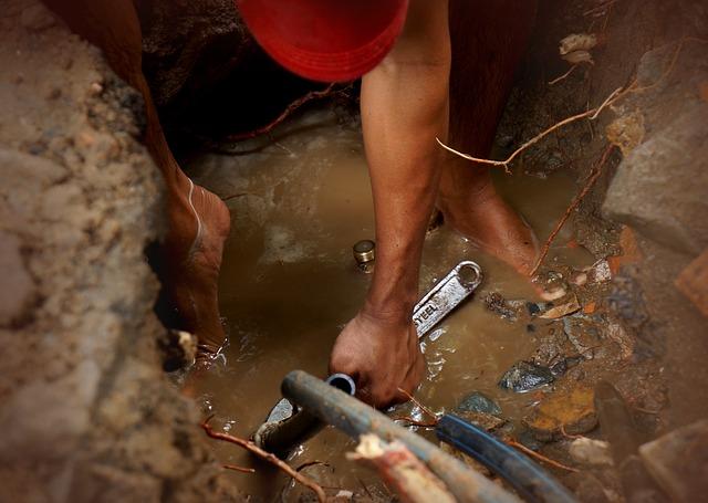 Drains de douche bouchés et réparation de fuites